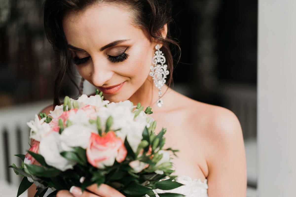 wesele nad zalewem zegrzyńskim portret panny młodej