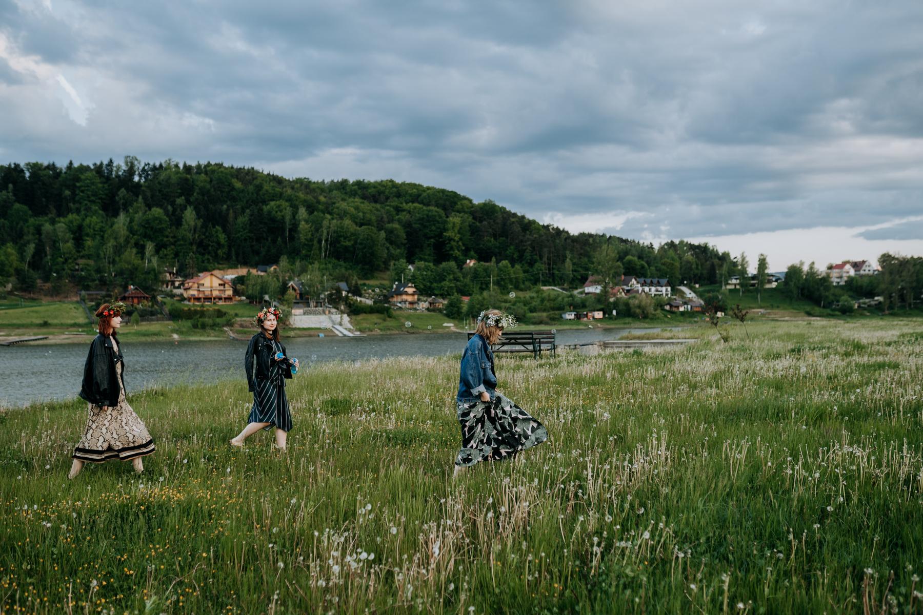 wieczór panieński nad jeziorem rożnowskim