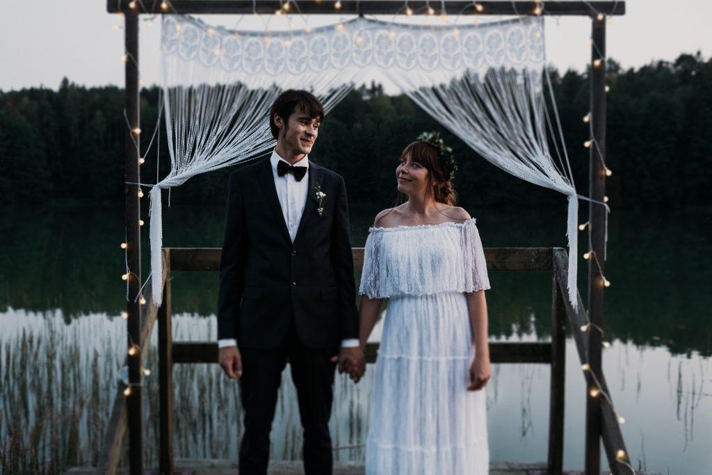 mini sesja w dniu ślubu