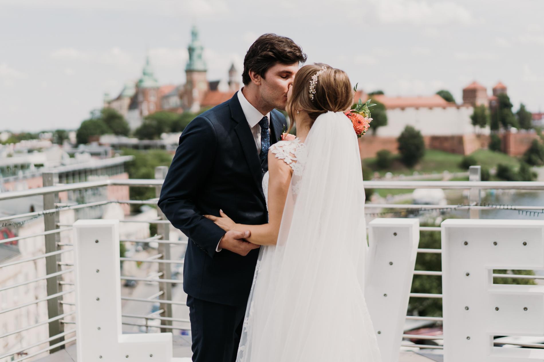 ślub w hotelu kossak kraków
