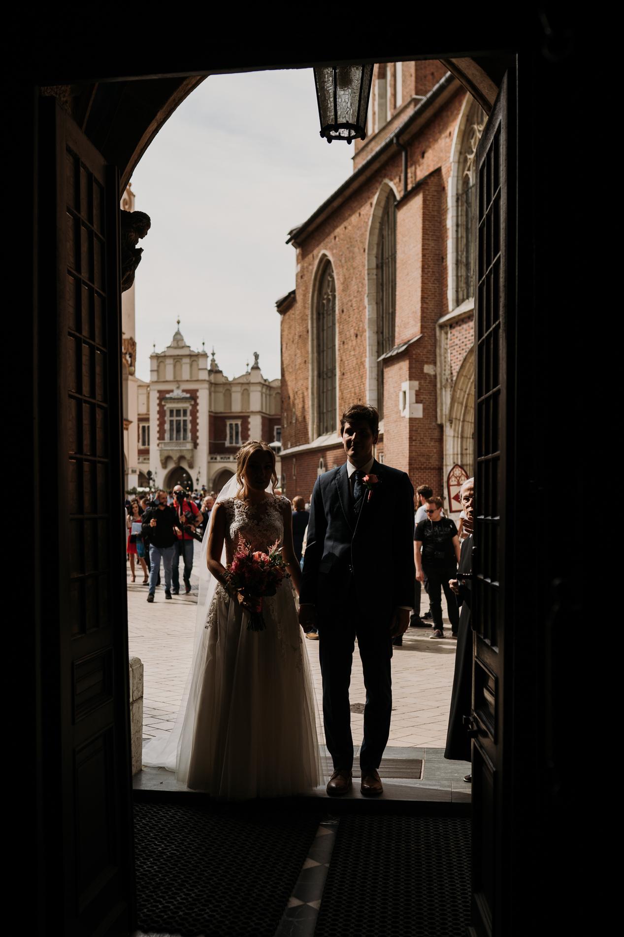 ślub na rynku w krakowie