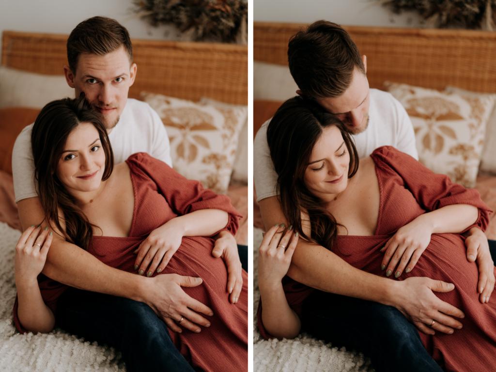 sesja ciążowa w studio częstochowa